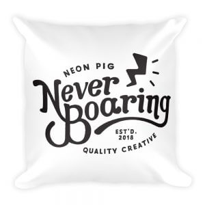 NeverBoaring Pillow