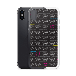 #NEVERBOARING SnR – iPhone Case