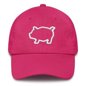 Cotton Piggy Cap
