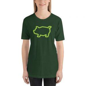 Green Piggy Tee